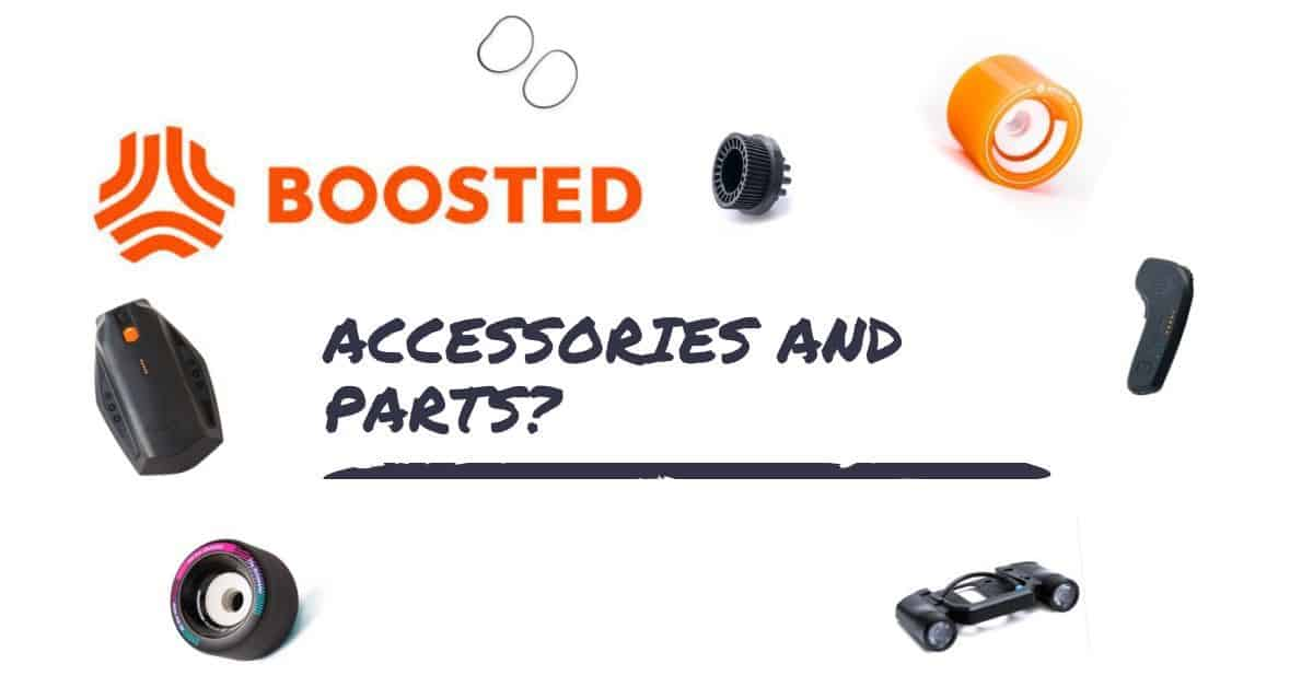 Boosted Boards is Out: Where to find accessories and parts?